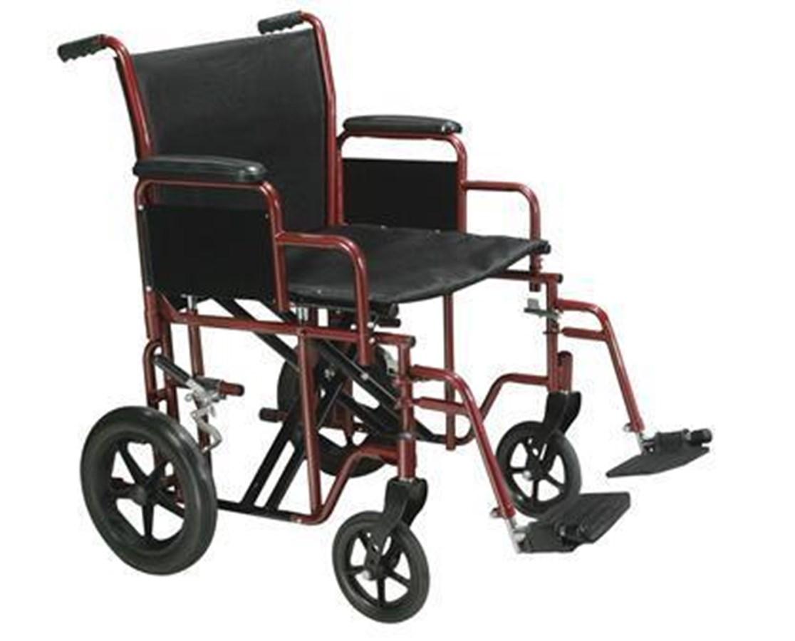 Drive BTR20-R Bariatric Steel Transport Chair