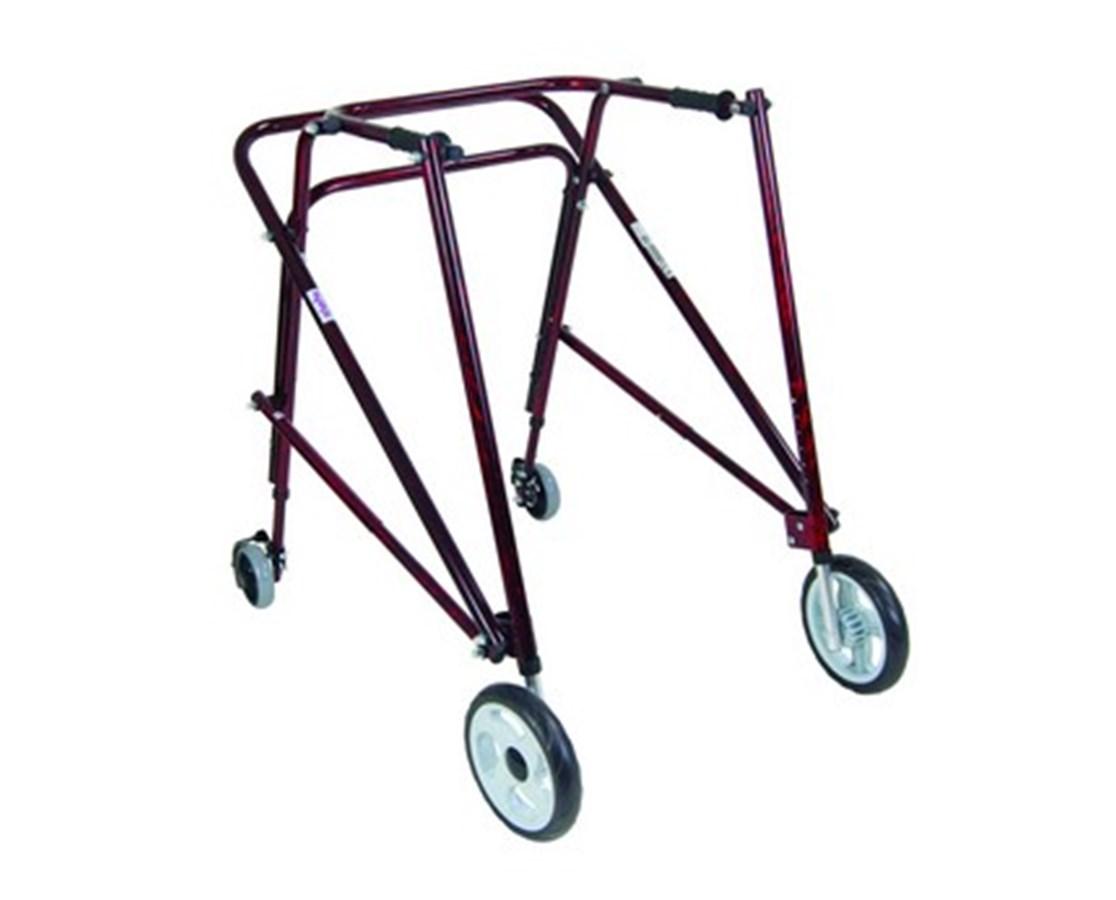 "9"" Non Swivel Wheels for Nimbo Gait Trainer/Walker DRIKA8100"