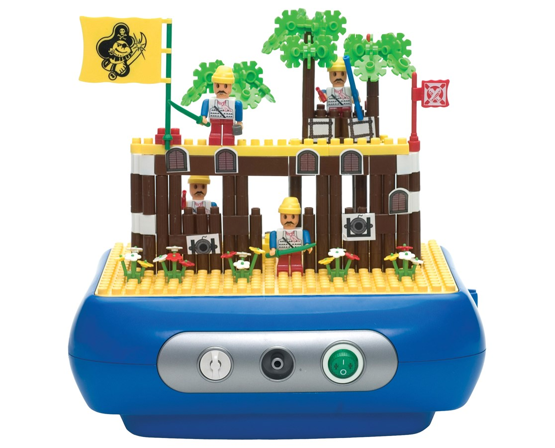 Pirate Island Building Block Kit for Compressor Nebulizer DRIMQ0073