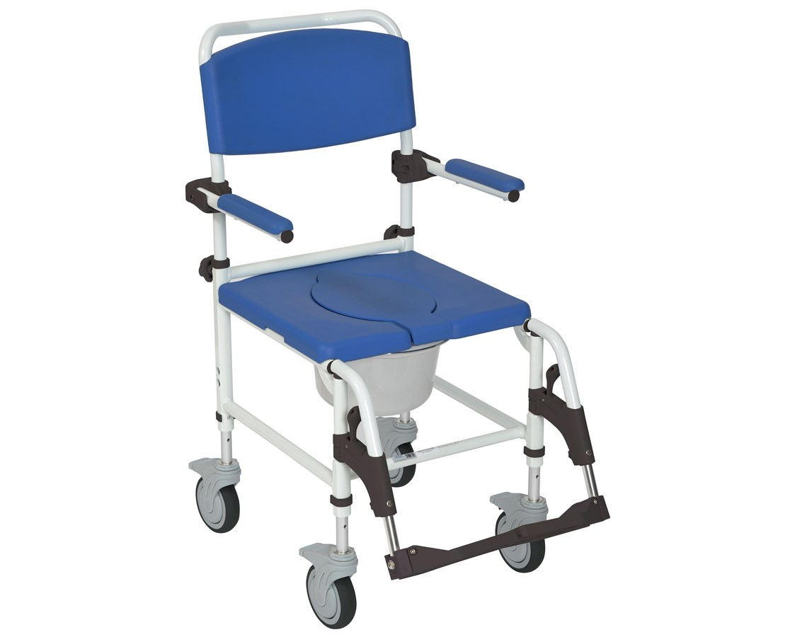 Aluminum Shower Commode Mobile Chair DRINRS185007-