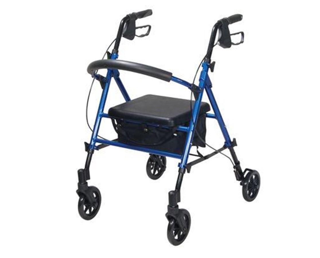 Drive RTL10261BL Universal Seat Height Aluminum Rollator
