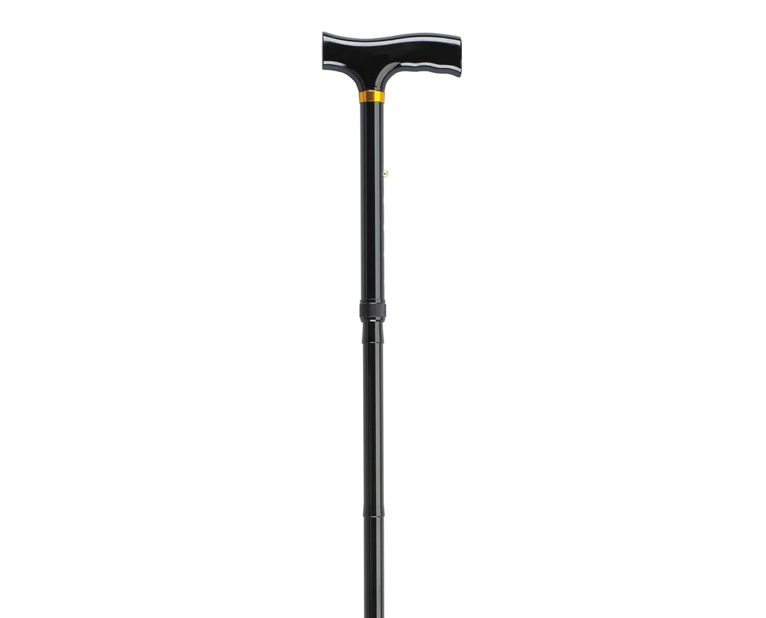 Heavy Duty Folding Cane Lightweight Adjustable with T Handle DRIRTL10304HD