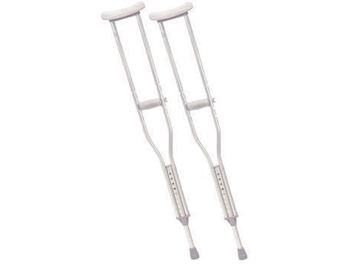 Drive 10416-1 Aluminum Crutches with Accessories