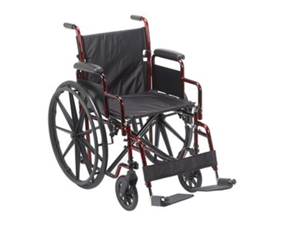 Rebel Lightweight Wheelchair DRIRTLREB18DDA-SF