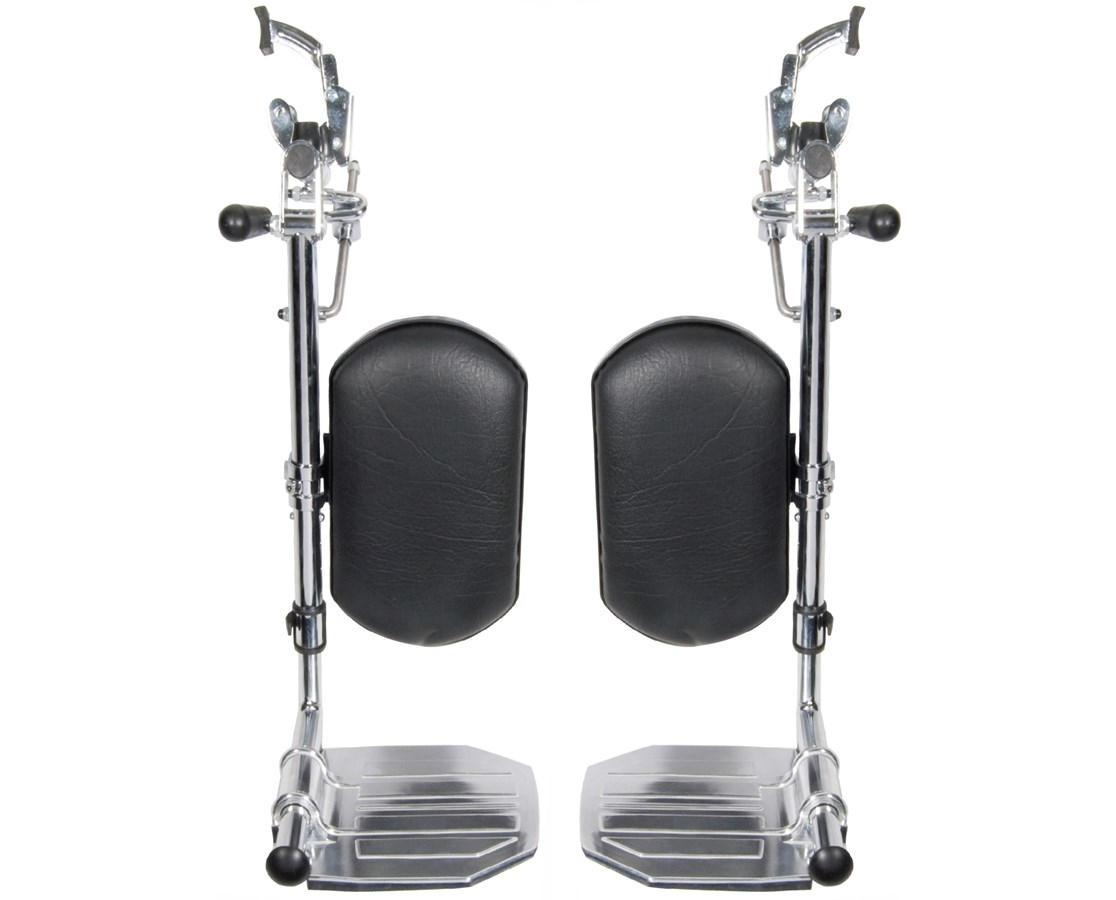 Elevating Legrests for Bariatric Sentra EC & Bariatric Sentra Extra Heavy Duty DRISTDELR-TF