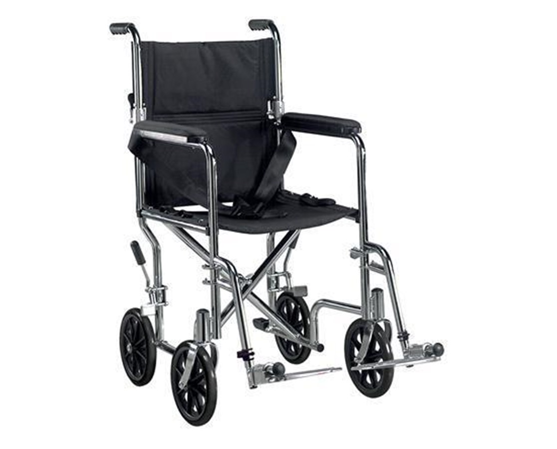 Drive TR17 Deluxe Go-Kart Steel Transport Chair