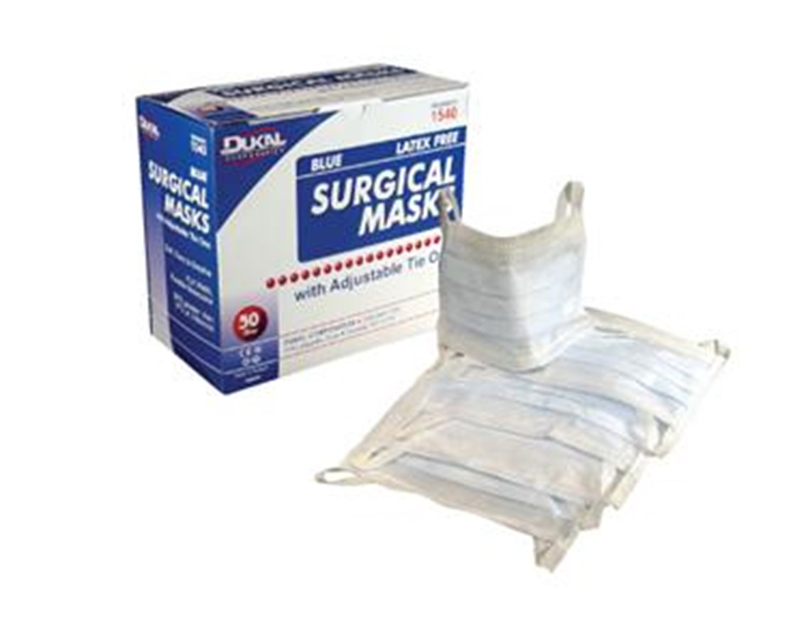 Surgical Masks ASTM1 Moderate Protection DUK1540