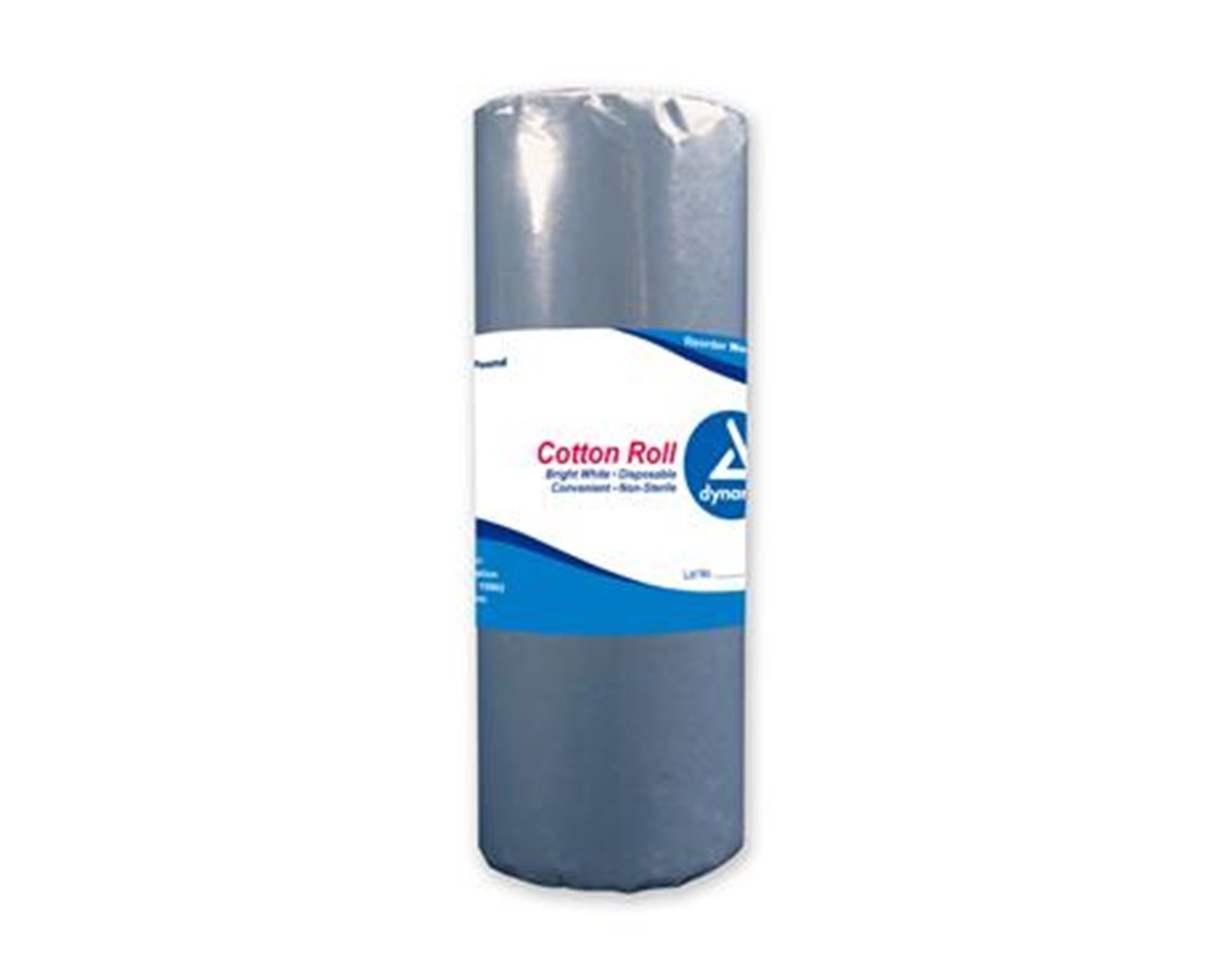 Cotton Roll, 1 lb., Non-Sterile, 25 Per Case DYN3166