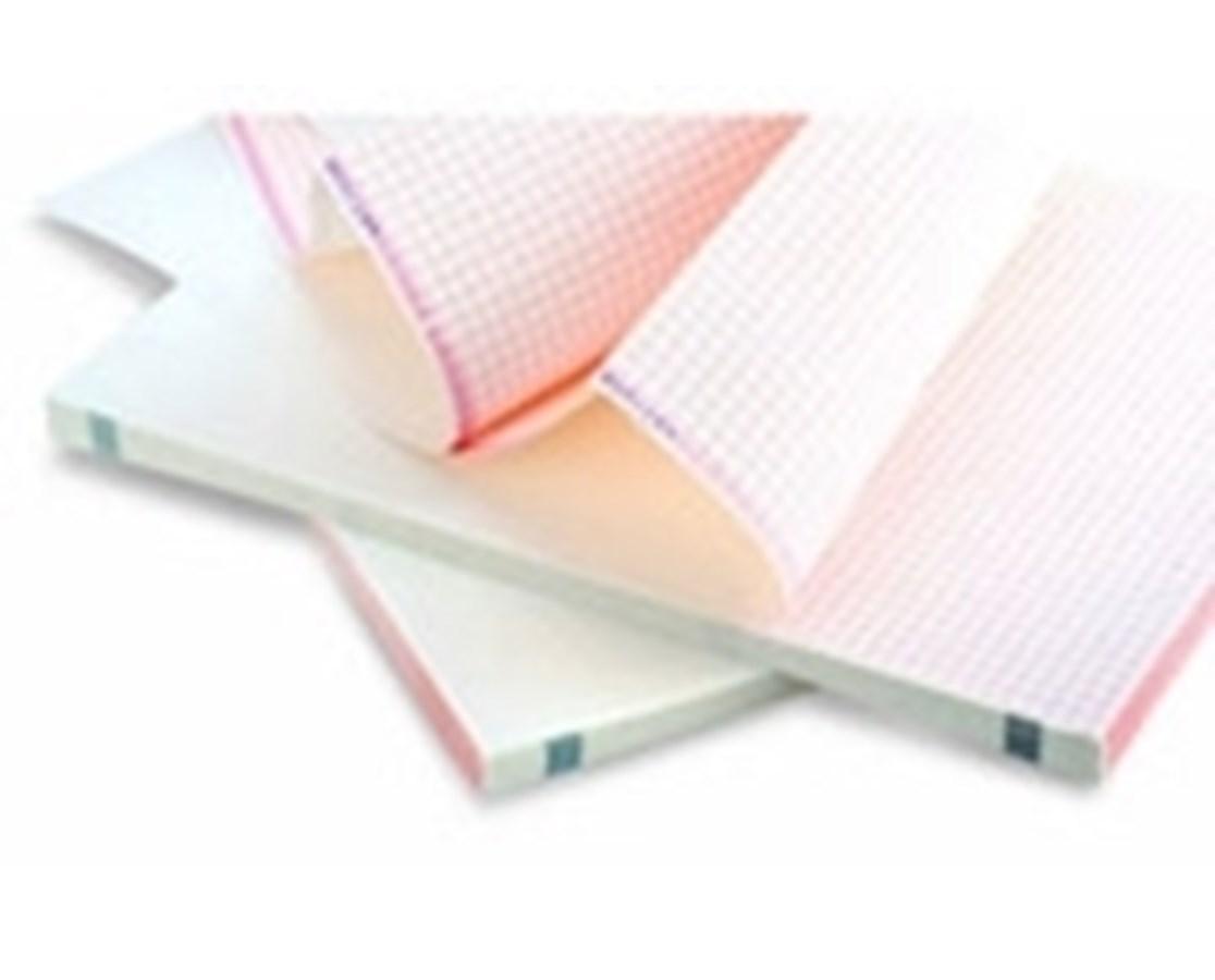 Z-Fold Recording Paper for Edan SE Series ECG Machines EDASE-12P