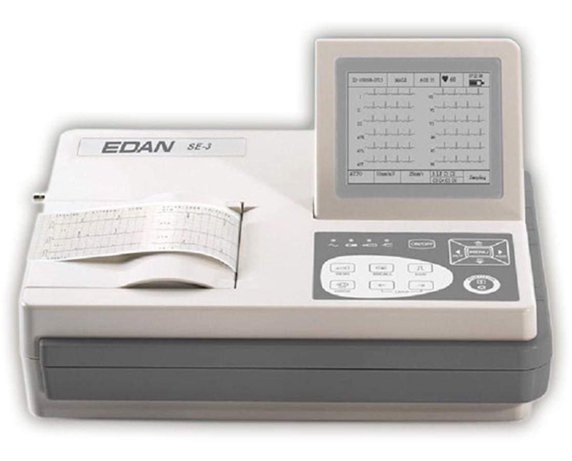 Three-Channel ECG Machine EDASE-3A-