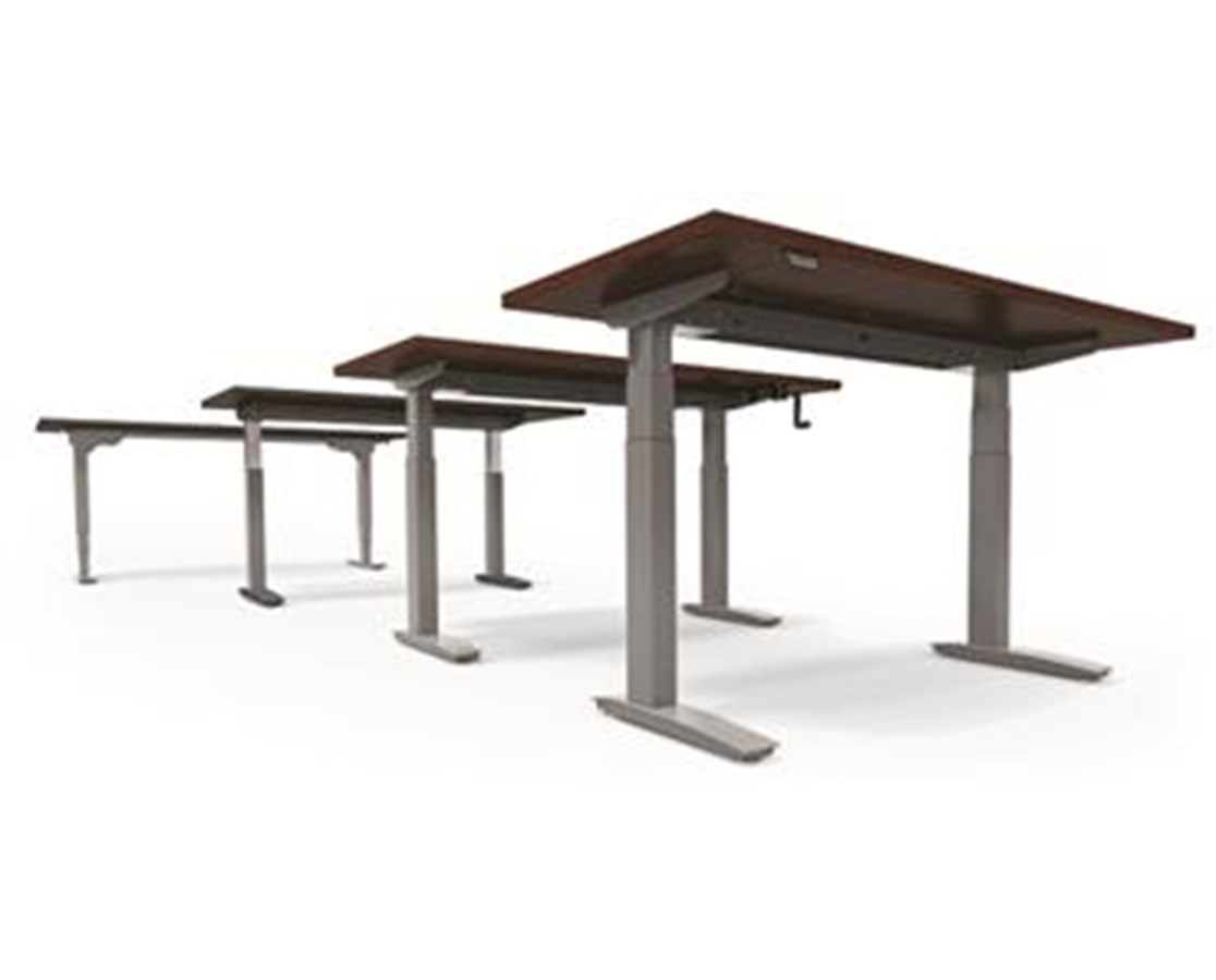 Rectangle Work Surfaces for BeneFIT Series Adjustable Table Bases ESI243624-