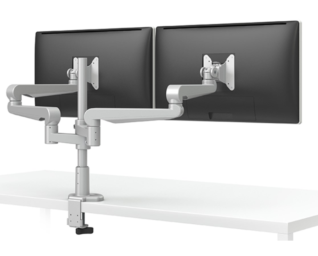 EVOLVE-Series Single Monitor Arm with Desk Clamp  EVOLVE1-M-