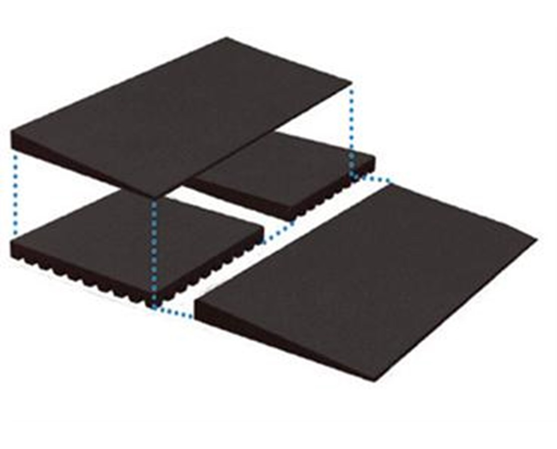 Risers for Rubber Threshold Ramps EZATHRRISER225-1PR