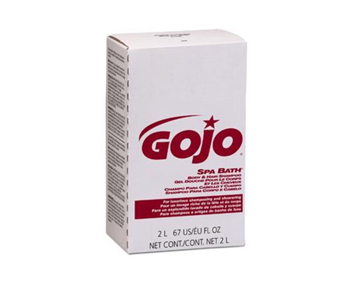 Gojo Spa Bath, Body and Hair Shampoo GOJ2252-04