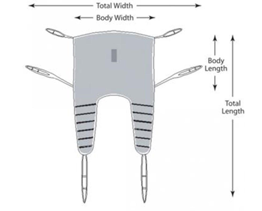 Sure-Lift Bariatric Universal Swing GRAUP894