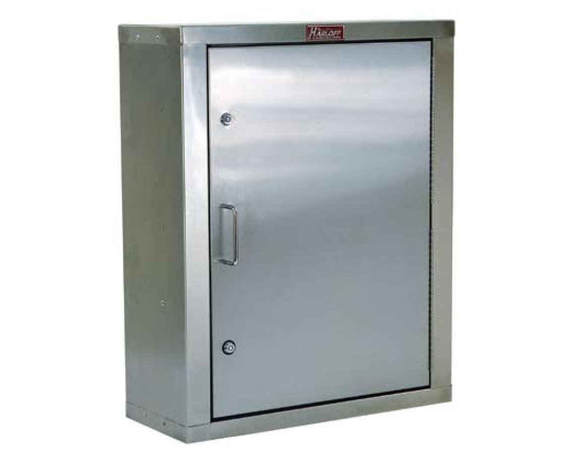 "23.5"" Stainless Steel Single Door Narcotics Cabinet HAR2732"