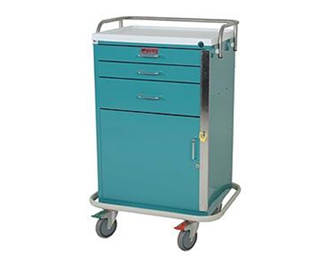 GP Line Three Drawer Emergency Cart HAR6160-