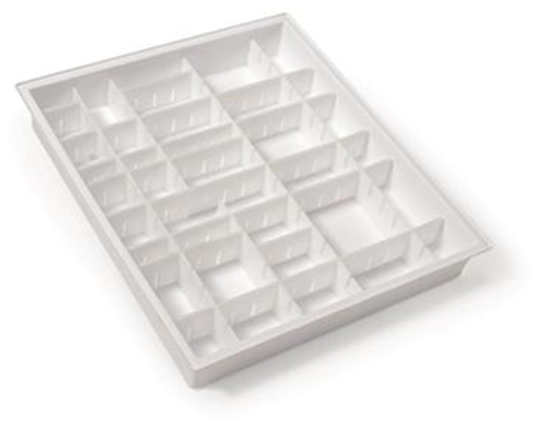 Drawer Divider Set for GP Line, OptimAL and Standard Line 3W Carts HAR68630-P1