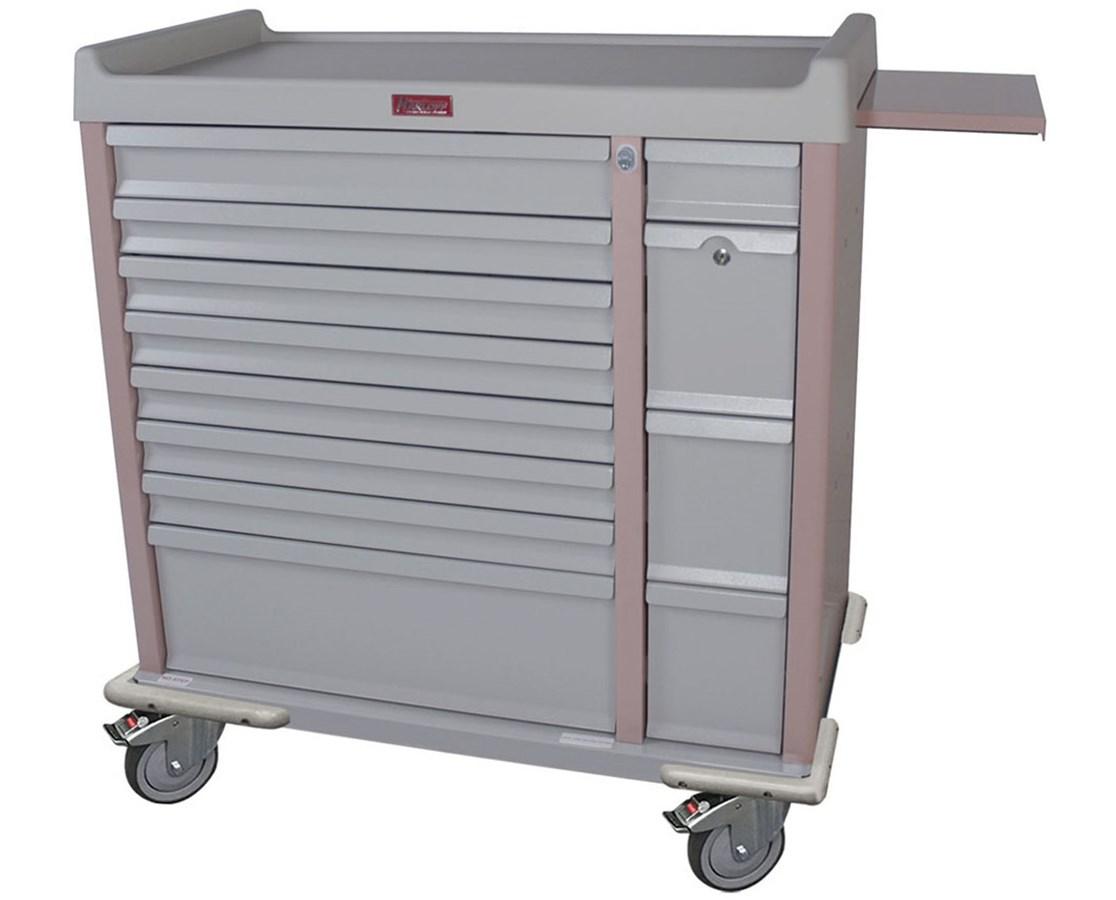 OptimAl™ All-Alluminum Medication Box Cart HARAL294BOX-