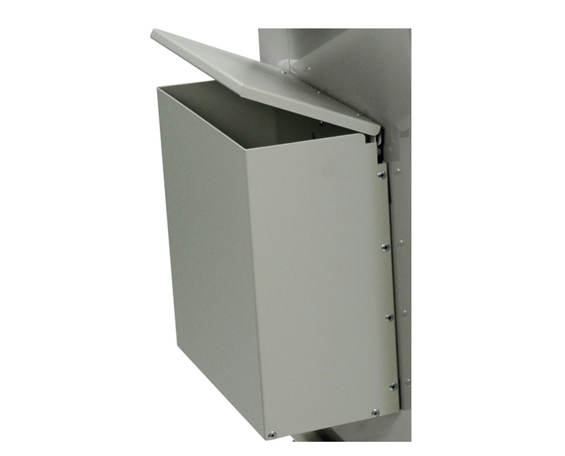 Aluminum Waste Container with Mounting Bracket HARAL680435-