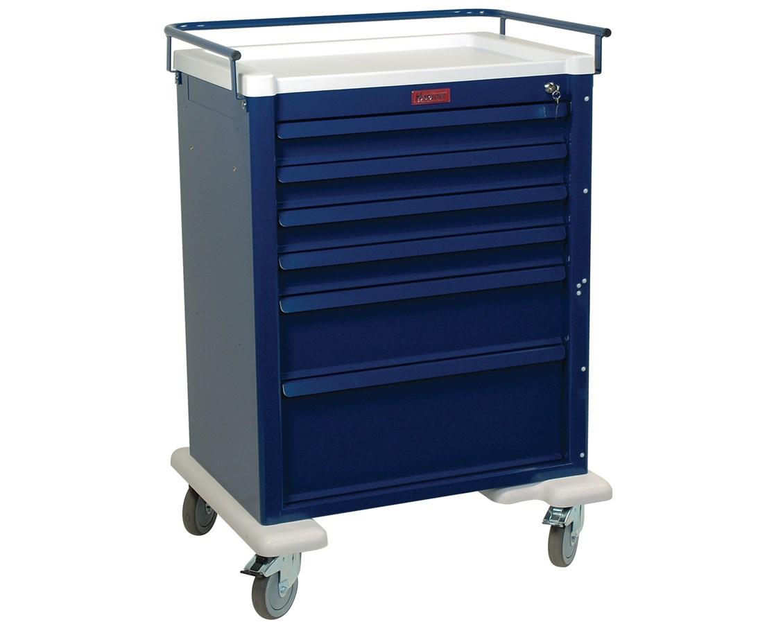 Universal Line Anesthesia Keylocking Cart HARAL808K5-
