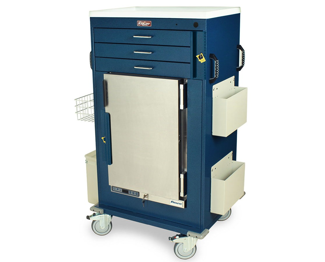 Classic Eight Drawer Workstation Cart HAR6610-