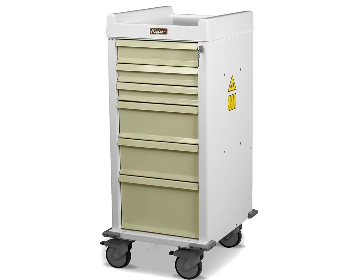 MR-Conditional Narrow Anesthesia Cart HARMRN6K-