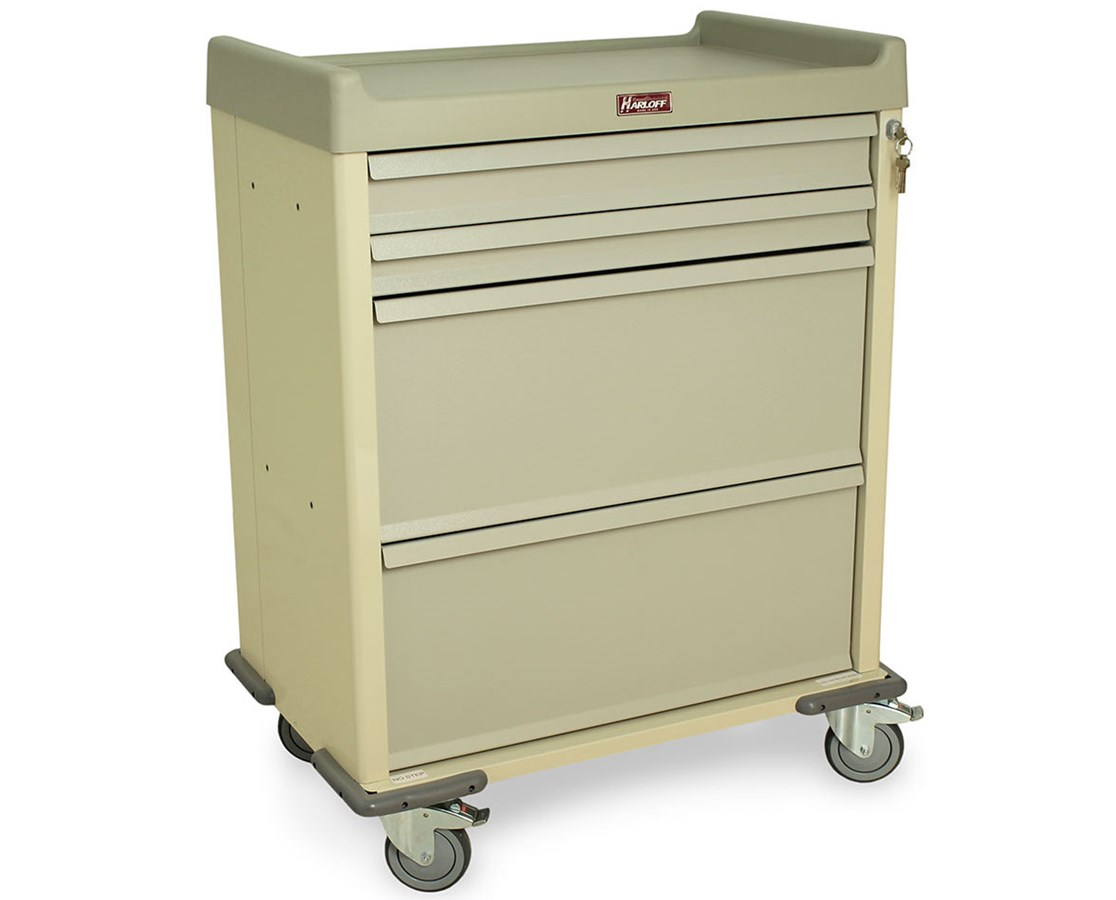 Standard Line Single Column DISPILL Medication Cart HARSL70DSPN-