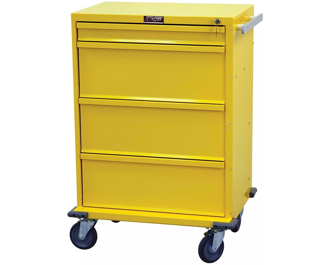 V-Series Four Drawer Isolation Cart HARV30-4K-