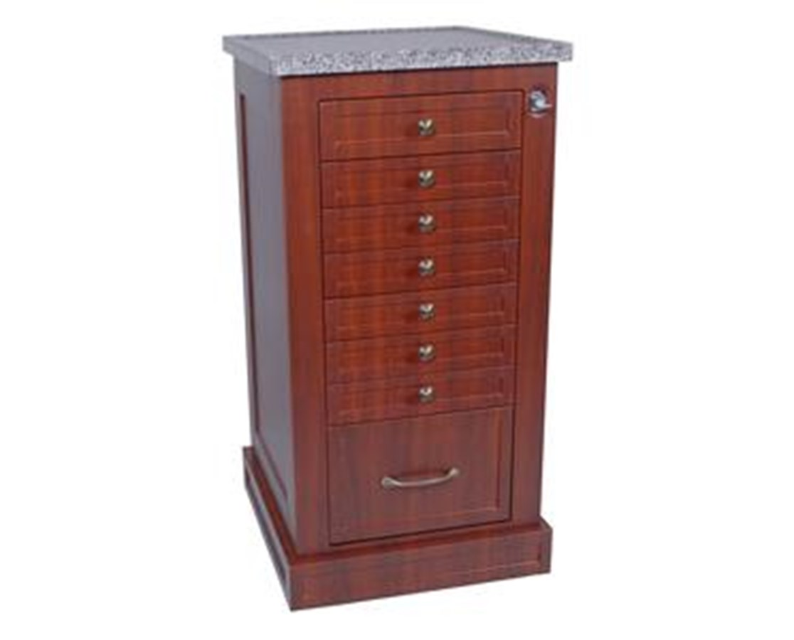Wood Laminate 108 Unit Dose Medication Cart HARWL108BOX-