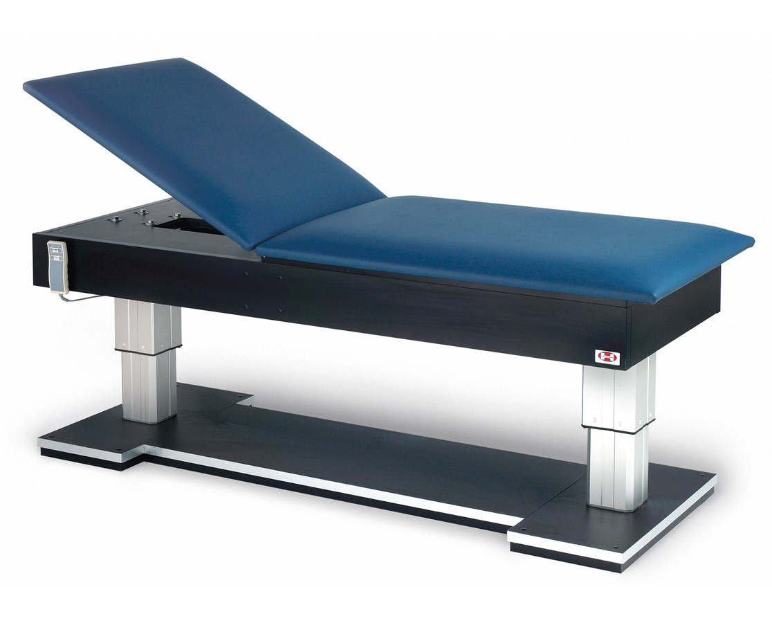 Bariatric Hi-Lo Treatment Table with Power Backrest HAU4795
