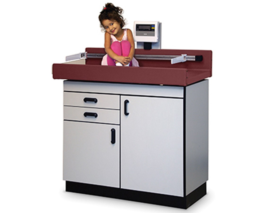 Economy Pediatric Table with Digital Scale & Infantometer HAU4944