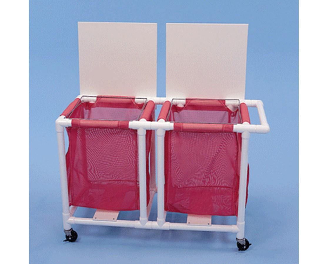 Jumbo Linen Hamper - 2 Mesh Bag HMPLH182W3-