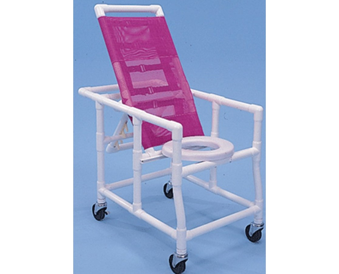 PVC Reclining Shower Chair HMPRSC500W4