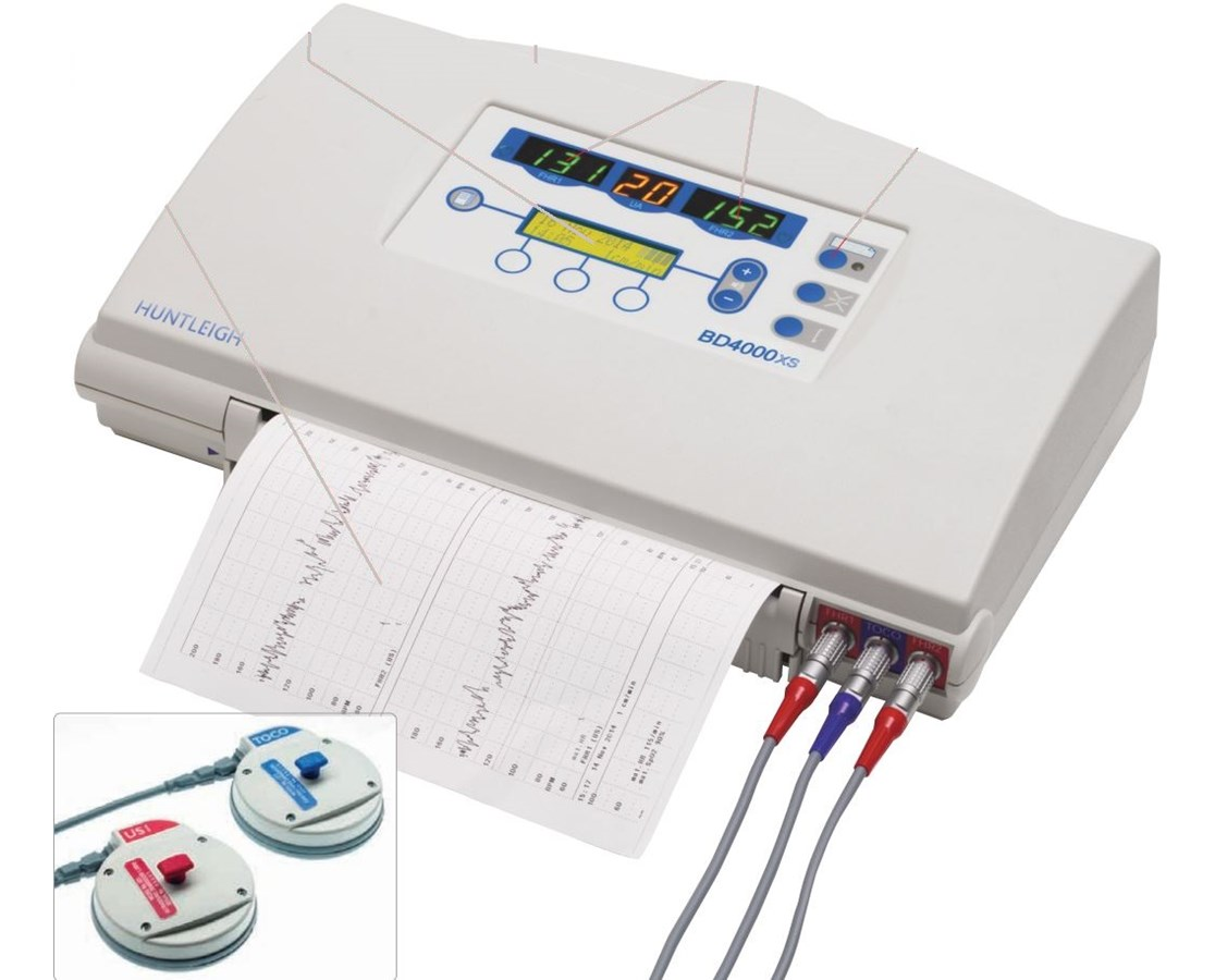 Sonicaid External Fetal Monitor HUNBD4000AXS-T
