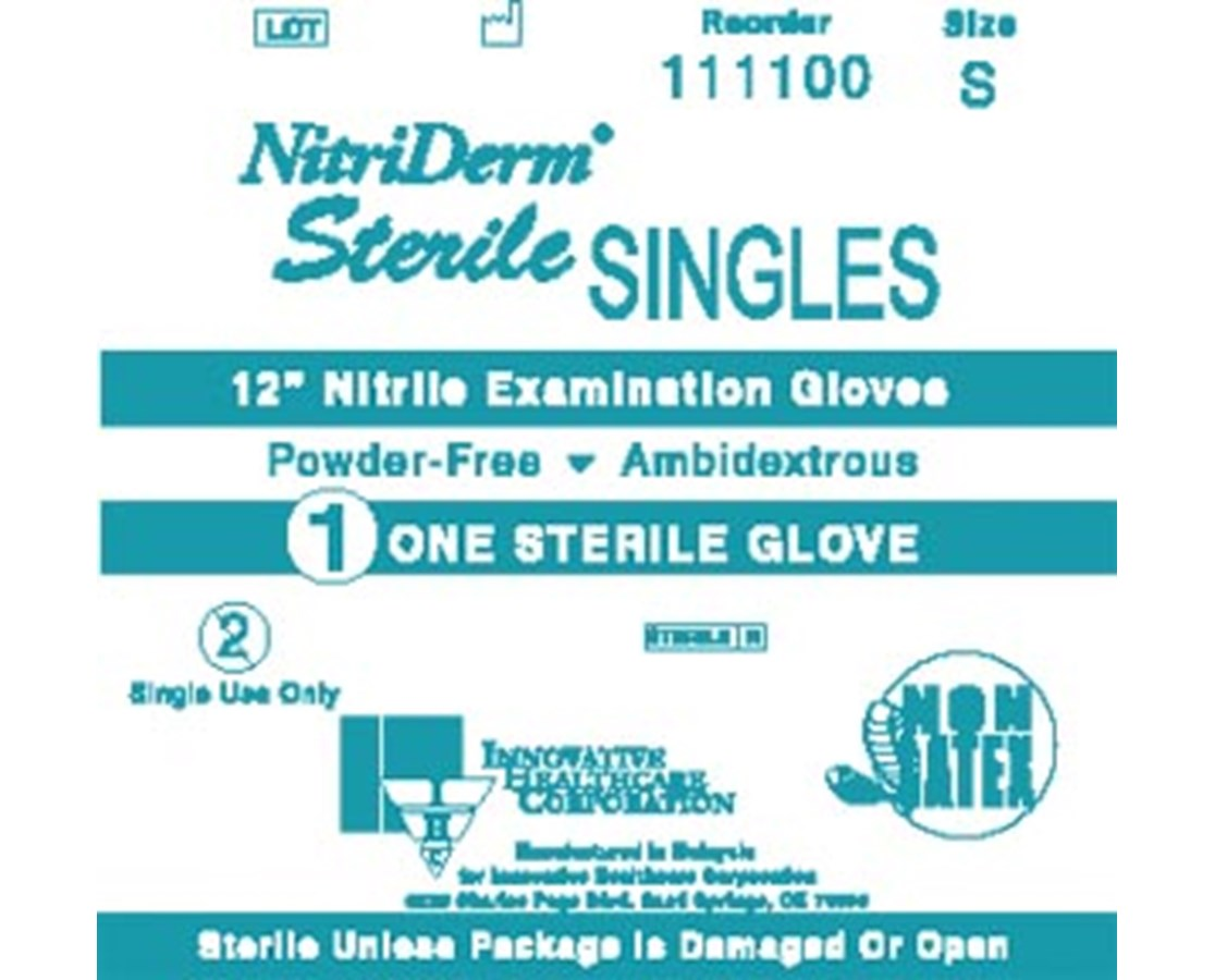 Nitrile Synthetic Powder-free Sterile Exam Gloves IHC111200
