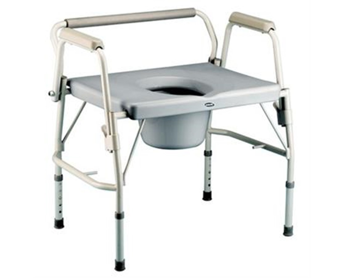 Bariatric Drop-Arm Commode INV6599
