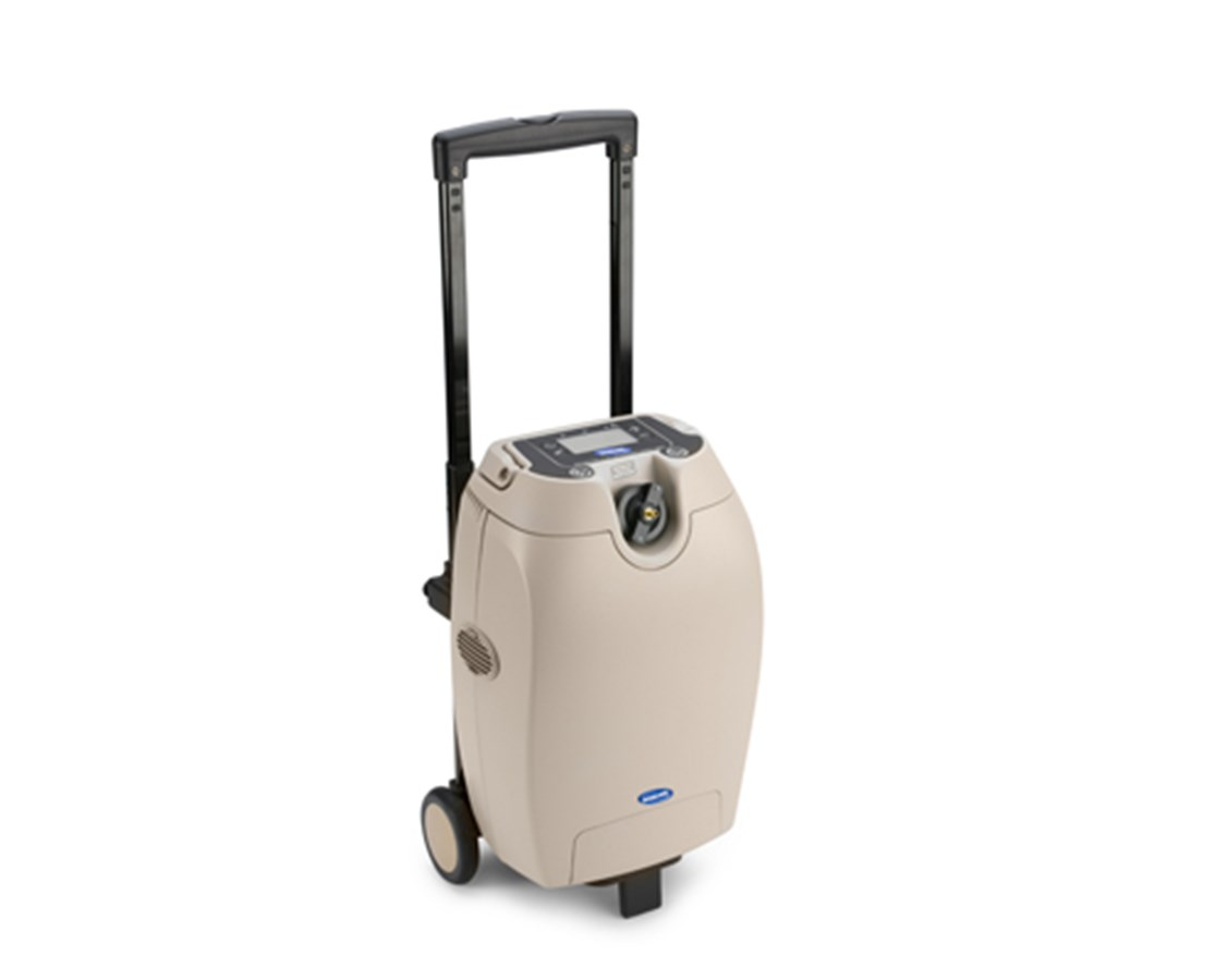 Wheeled Cart For Invacare Solo2 Oxygen Concentrator Free