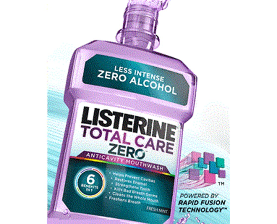 Listerine® Total Care Zero™ Mouthwash JJC30671