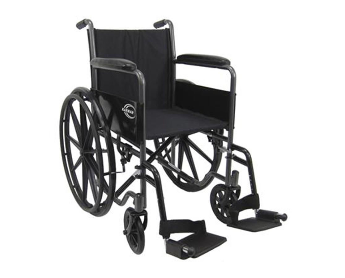 Lightweight Fixed-Arm Wheelchair KARLT-800T-