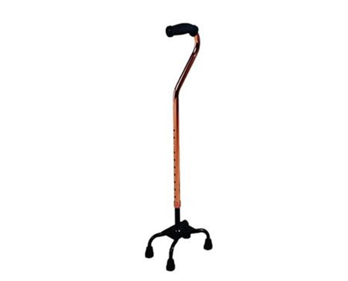 Large Base Quad Cane KARQC4-
