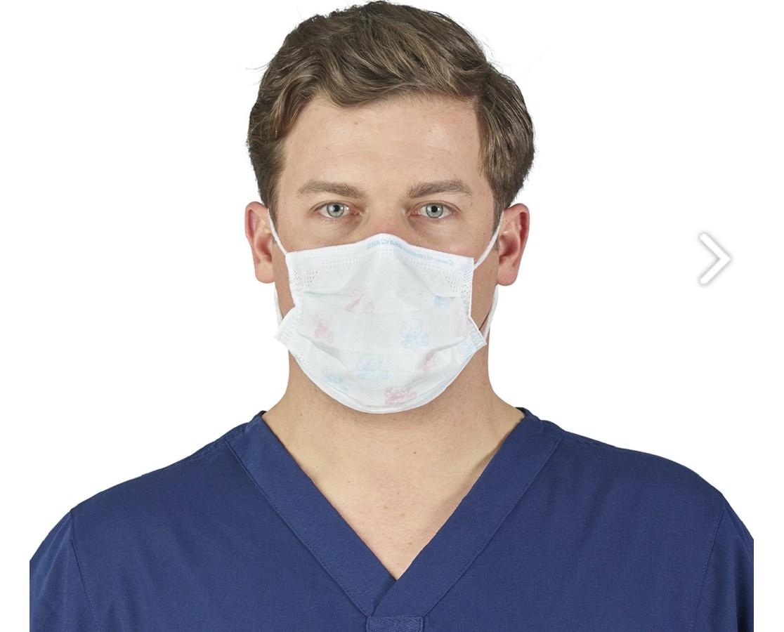 FluidShield Fog Free Surgical Mask KIM48247