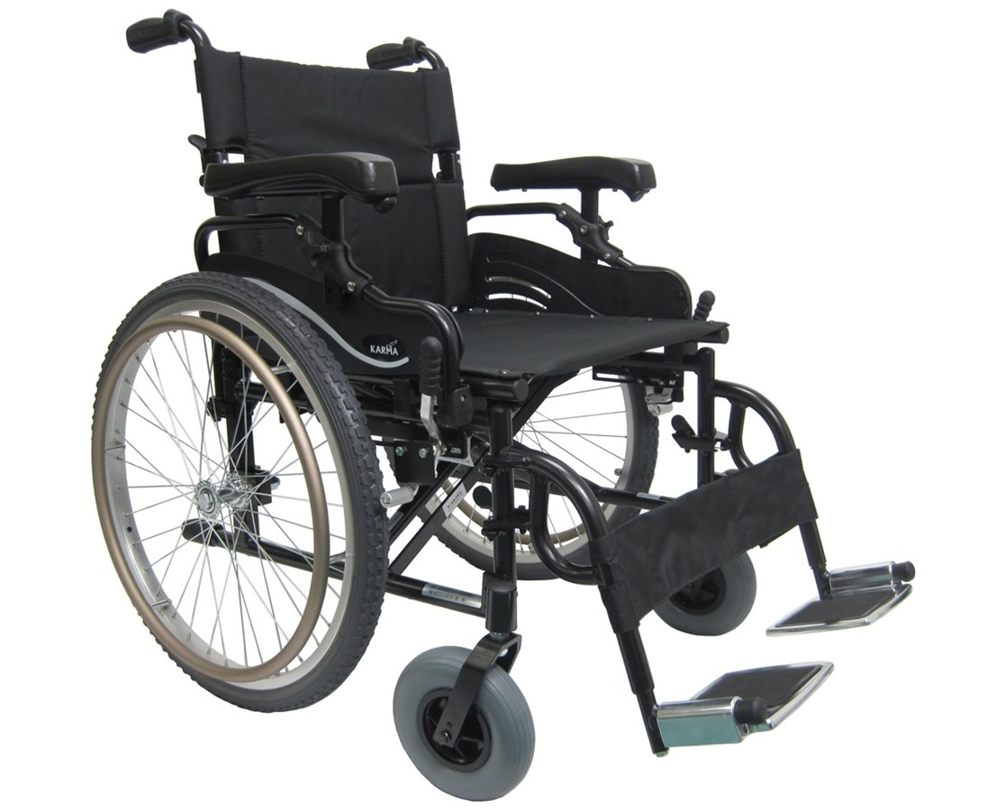 Karman Lightweight Bariatric Wheelchair KM-8520-W KM-8520F-20W-HA