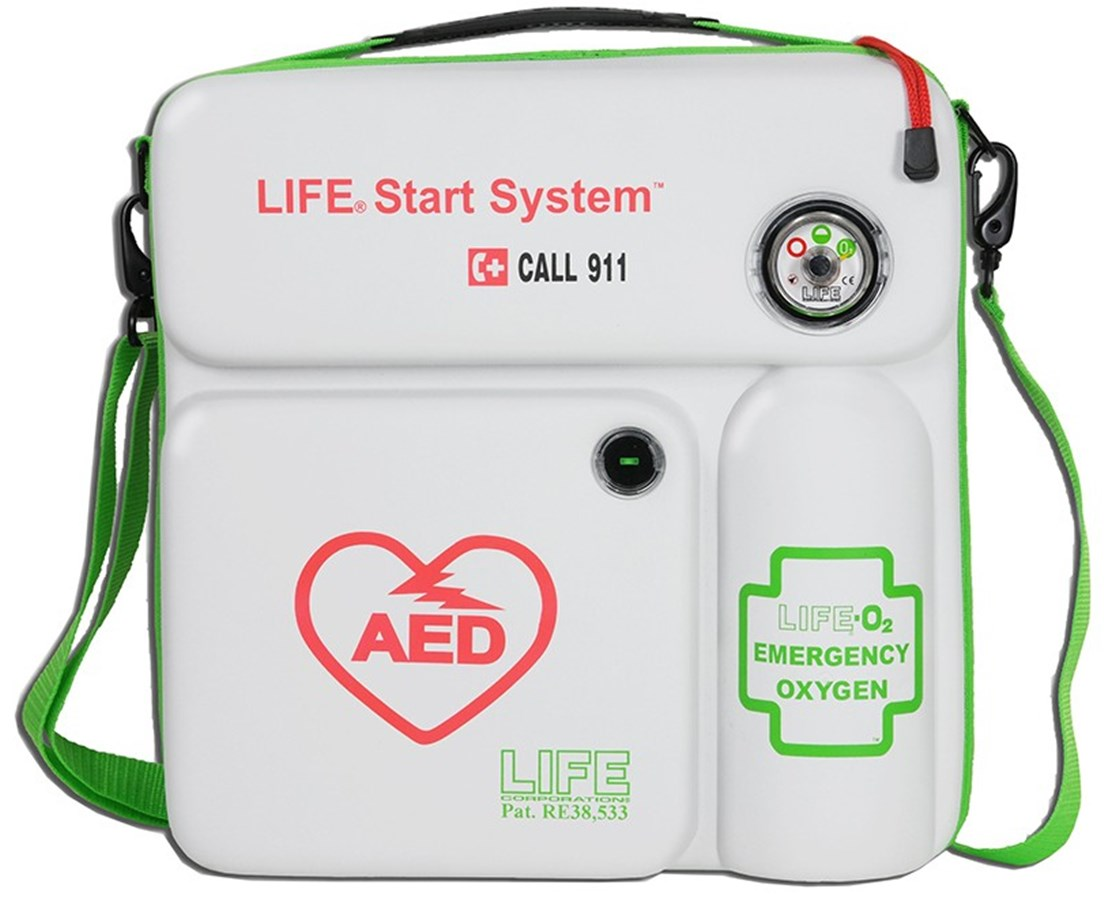 LIFE® StartSystem Emergency Oxygen for AED Defibrillator LIFLIFE-O2-LSS