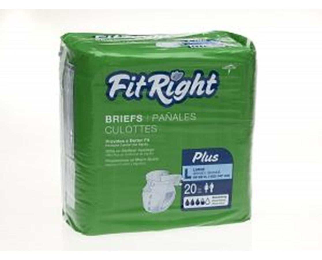 FitRight™ Plus XX-Large Adult Briefs MEDFITPLUSXXL
