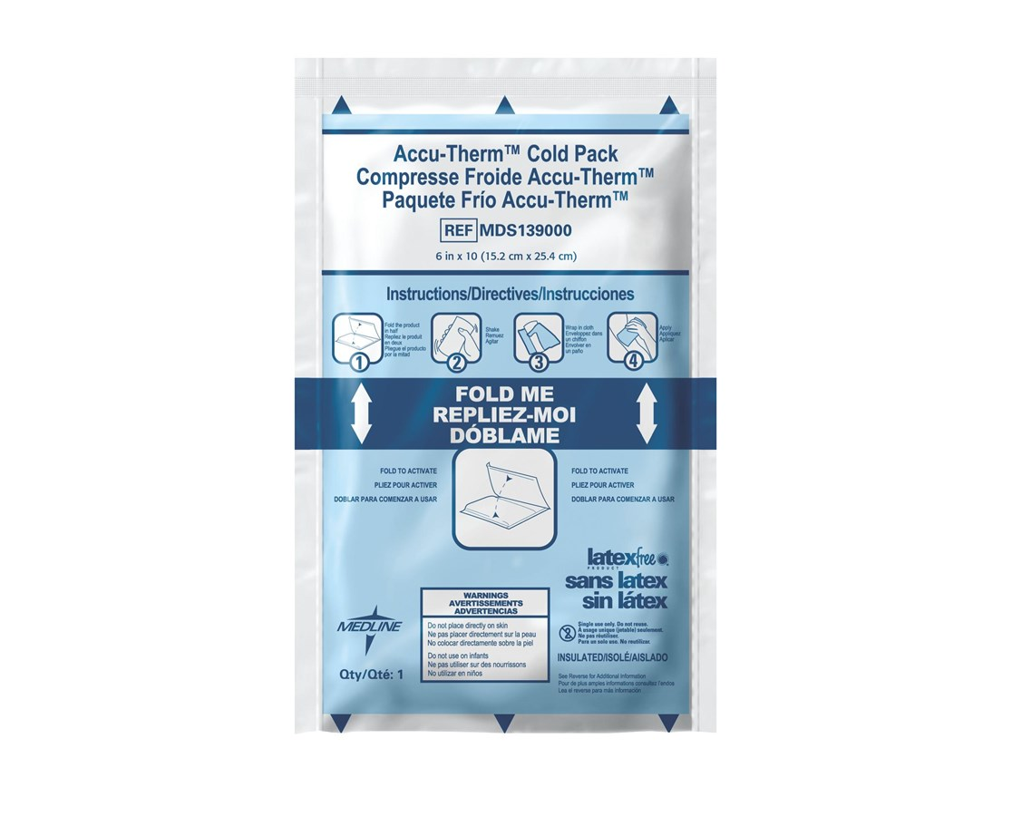 Accu-Therm Instant Cold Packs MEDMDS138010-