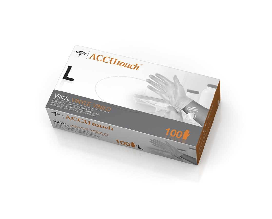 Accutouch Synthetic Exam Gloves MEDMDS192076H-