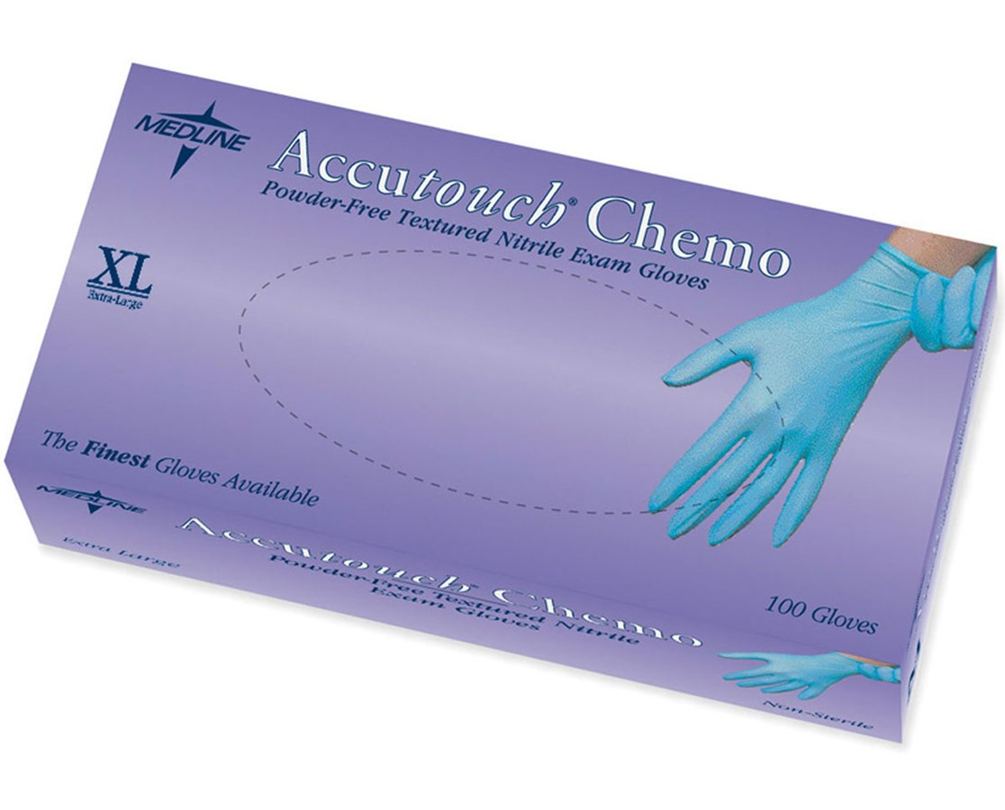 Accutouch Chemo Nitrile Exam Gloves MEDMDS192087Z-