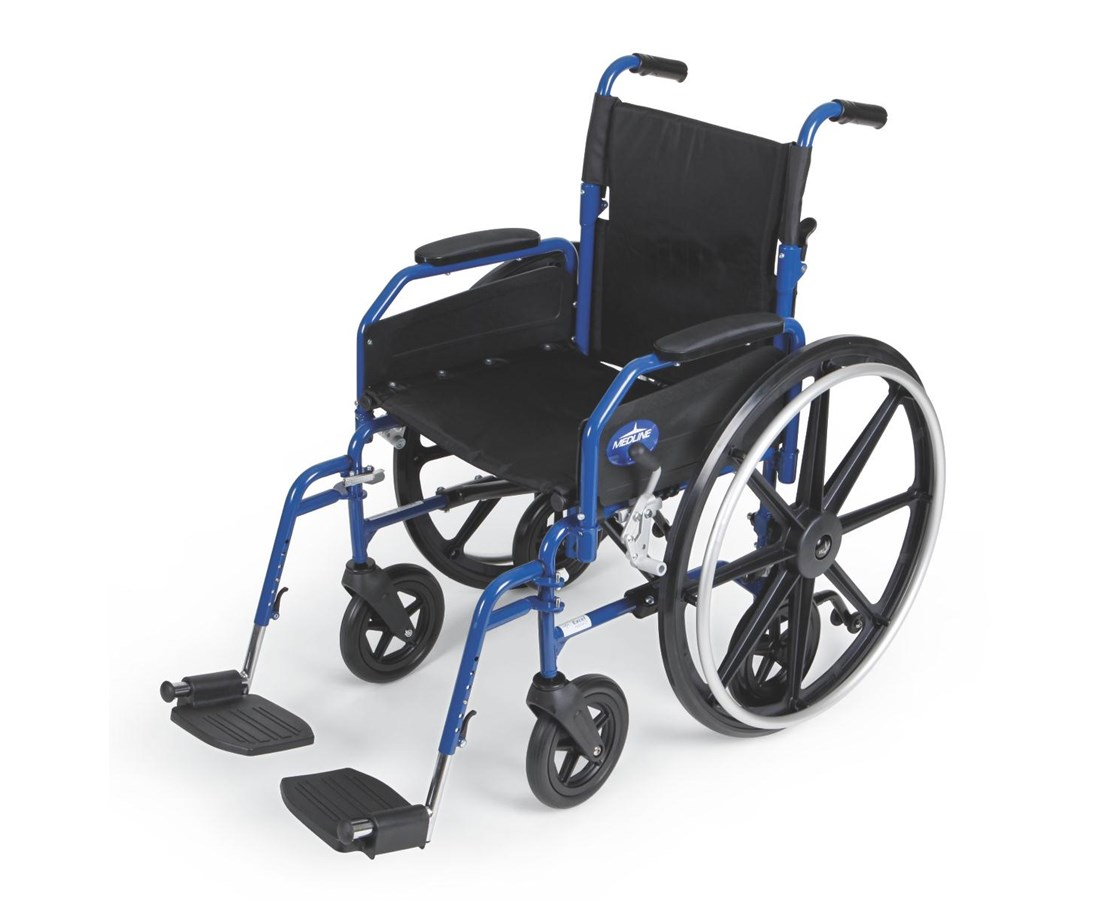 Hybrid 2 Transport Wheelchair MEDMDS806250H2-
