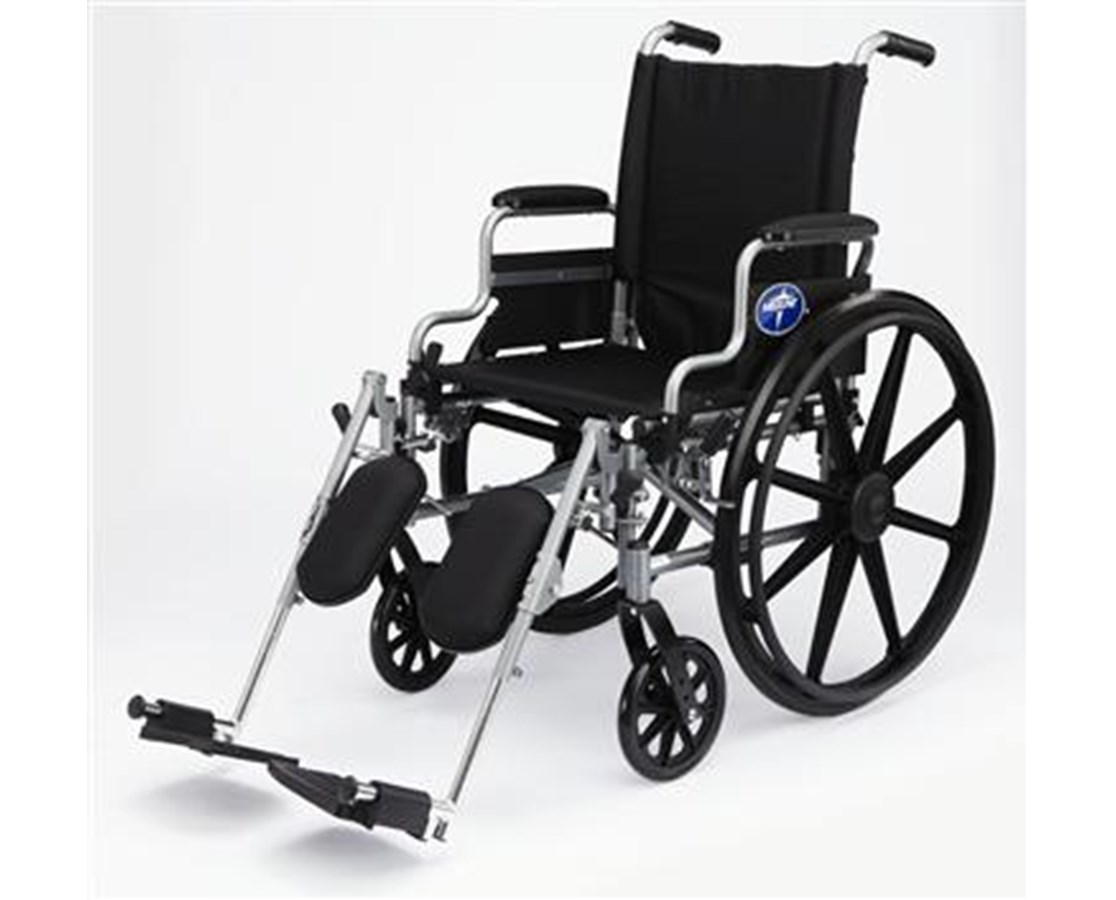 Medline MDS806560E Basic Extra Wide Light Weight Wheelchair